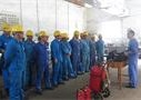 机动车间举办应急器材使用培训及演练